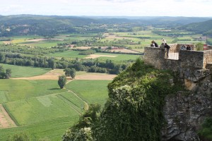 From the ramparts of Domme it's possible to see the whole Dordogne Valley.
